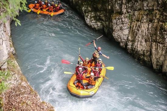 Rafting samoens, rafting haute savoie 74